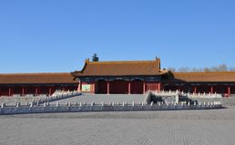 Строб дворца к запретному городу Стоковые Фото