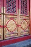 Строб дворца музея дворца Пекина стоковые фото
