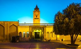 Строб входа собора Vank в Isfahan - Иране Стоковое фото RF