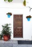 Строб в андалузских белых деревнях в Испании Стоковые Изображения RF