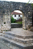 Строб в старый городок Trebinje Стоковое Фото
