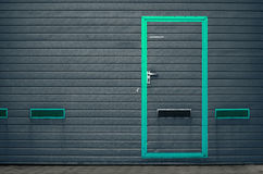 Строб гаража как предпосылка Стоковое Изображение RF
