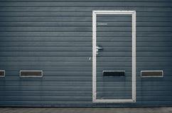 Строб гаража как предпосылка Стоковое Фото