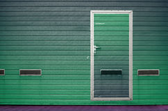 Строб гаража как предпосылка Стоковые Фотографии RF