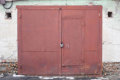 Строб гаража Стоковое Фото