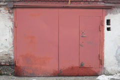 Строб гаража Стоковые Фото