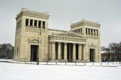 Строб города Propylaea в Мюнхене, Германии Стоковое фото RF