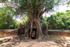 Angkor Thom Стоковое Изображение