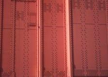 строб детали моста предпосылки золотистый Стоковое Изображение