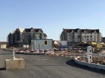 Строб для того чтобы ограничить вход к строительной площадке Стоковая Фотография