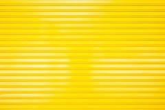 Строб желтого металла для текстуры и предпосылки Стоковая Фотография