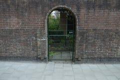 Строб закрытый дверью стоковая фотография rf