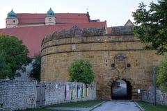 Строб замка Стоковая Фотография