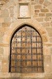 строб замока средневековый Стоковое фото RF
