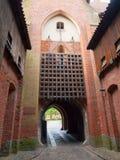 строб замока средневековый Стоковое Фото