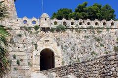 строб замока средневековый Стоковые Фото