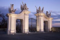 строб замока bratislava Стоковое Изображение RF