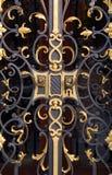 строб золотистый Стоковое Фото