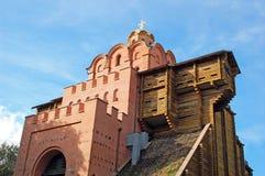 строб золотистый kiev Украина Стоковая Фотография