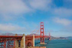 строб золотистый san США francisco моста Стоковое Изображение