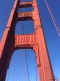 строб золотистый san california francisco моста стоковые фотографии rf