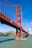строб золотистый san franci моста Стоковые Фотографии RF