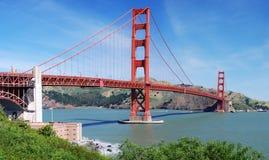 строб золотистый san franci моста Стоковое фото RF