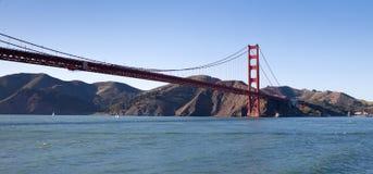 строб золотистый san francisco моста залива Стоковая Фотография RF