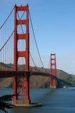 строб золотистый san francisco моста Стоковая Фотография RF
