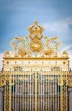 строб золотистый versailles замка Стоковые Изображения