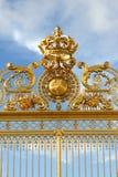 Строб золота - дворец Версаль Стоковые Изображения