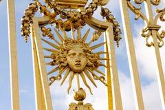 Строб золота - дворец Версаль Стоковые Фотографии RF
