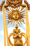 Строб золота - дворец Версаль Стоковое Фото