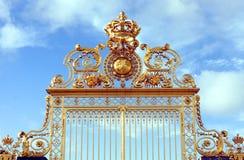 Строб золота - дворец Версаль Стоковая Фотография RF