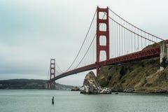 строб золотистый san США francisco моста Стоковые Изображения RF