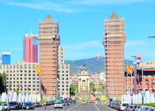 Строб к Барселоне Испания Стоковое Фото