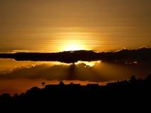Строб к облакам Стоковое Изображение RF