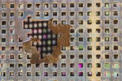 Строб металла Стоковая Фотография RF