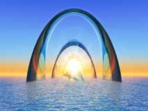 Строб моря бесплатная иллюстрация