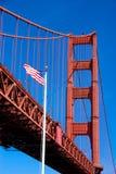 строб моста америки золотистый Стоковые Фотографии RF