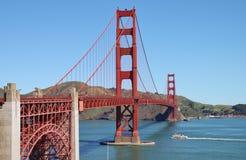 строб моста золотистый Стоковая Фотография RF