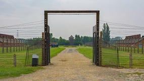 Строб на Birkenau стоковые изображения rf