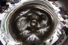 строб облака стоковая фотография