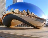 Строб облака Чикаго Стоковая Фотография