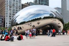 Строб облака, Чикаго Стоковая Фотография