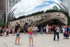 Строб облака Чикаго Стоковые Фото