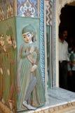 Строб павлина в дворце города, Джайпуре Стоковая Фотография RF