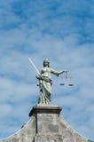 Строб правосудия на замке Дублина, Ирландии Стоковое фото RF
