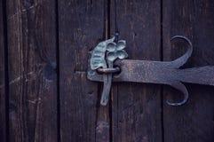 Строб, старый украинский дом в лете Стоковое фото RF