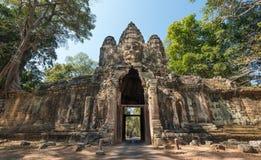 Строб Angkor Thom, Siem Reap, Камбоджа стоковая фотография